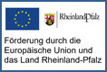 """Das Projekt """"Industrie 4.0 Monitoring-System"""" (Erforschung intelligenter Softwarealgorithmen, Ziel: maximale Maschinenverfügbarkeit) wurde von der Europäischen Union aus dem Europäischen Fonds für regionale Entwicklung und dem Land Rheinland-Pfalz gefördert."""